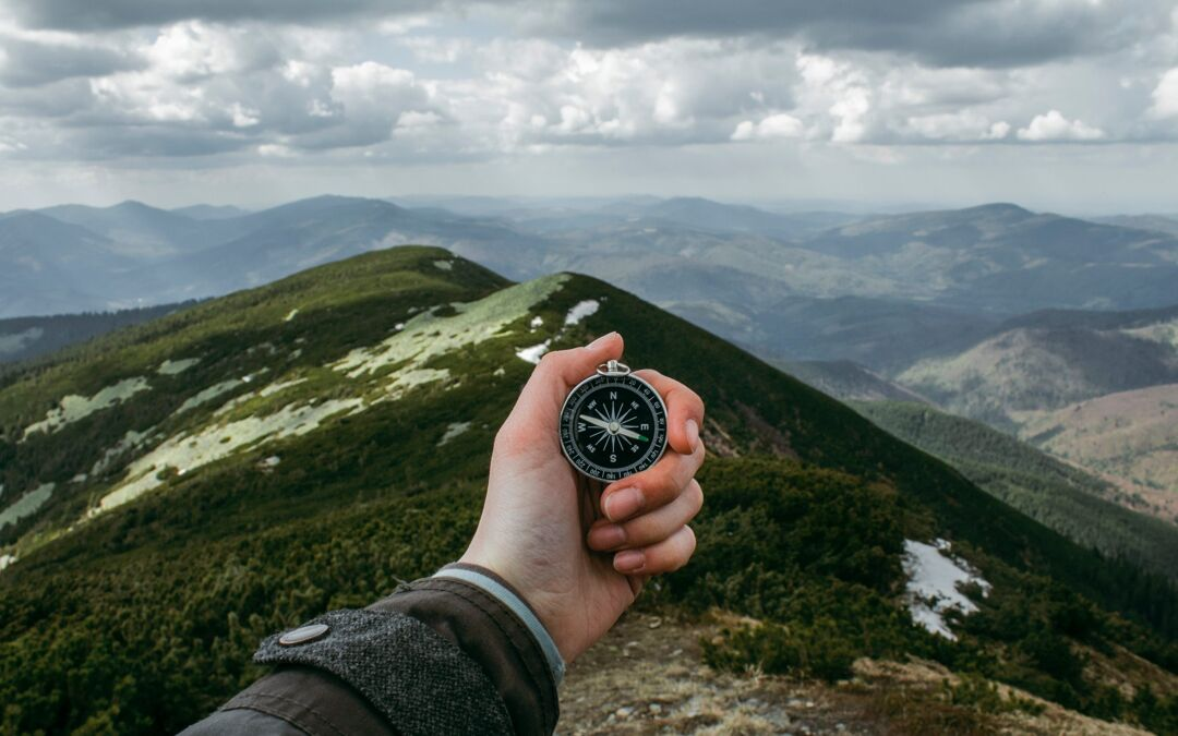 traveling with a compass